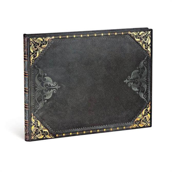 Paperblanks Midnight Rebel Guest Visitor Book