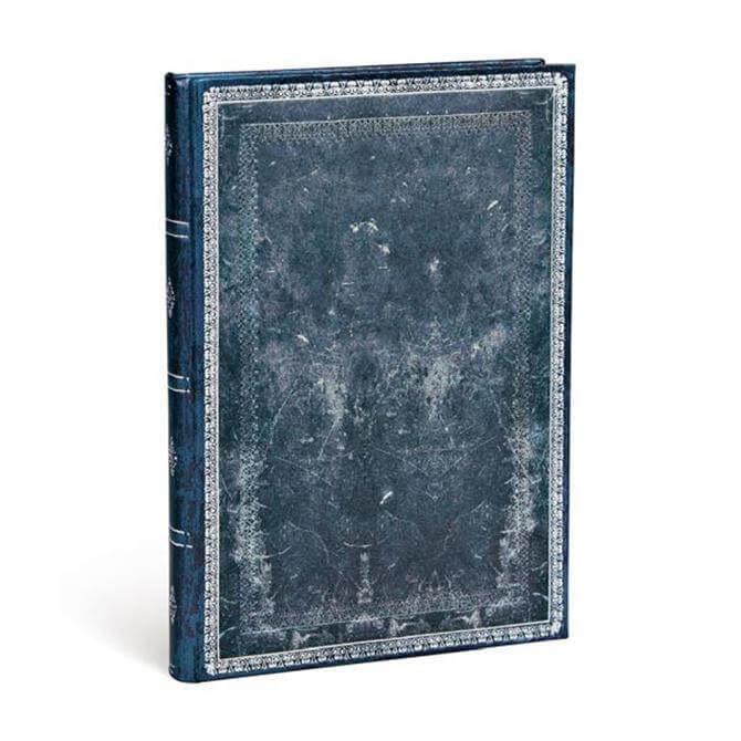 Paperblanks Midnight Steel Address Book