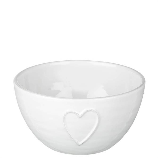 Parlane White Love Bowl