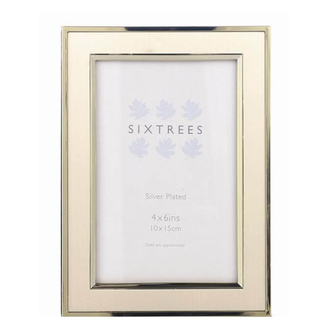 Sixtrees Abbey Gold Photo Frame