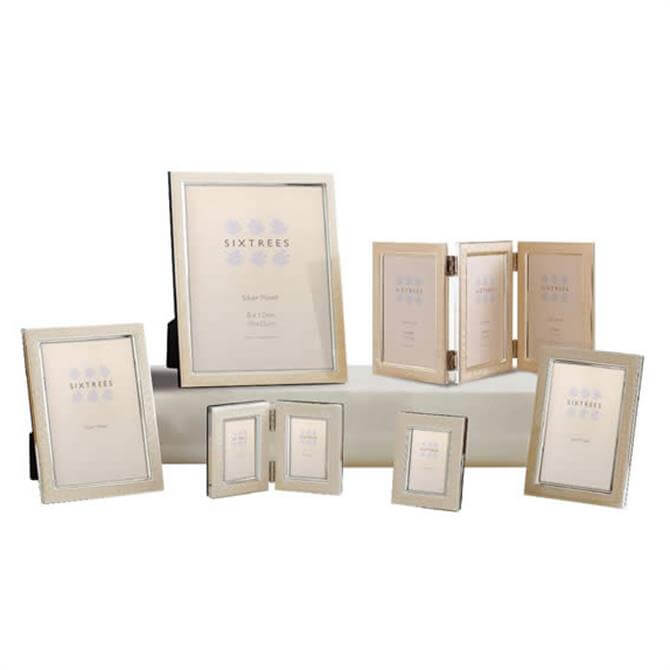 Sixtrees Zurich Silver Plated Photo Frame