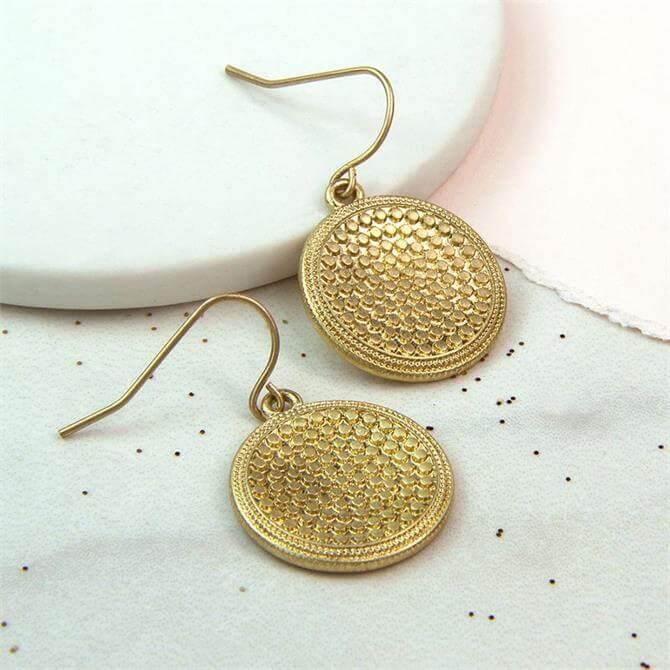 Peace of Mind Bobble Disc Earrings