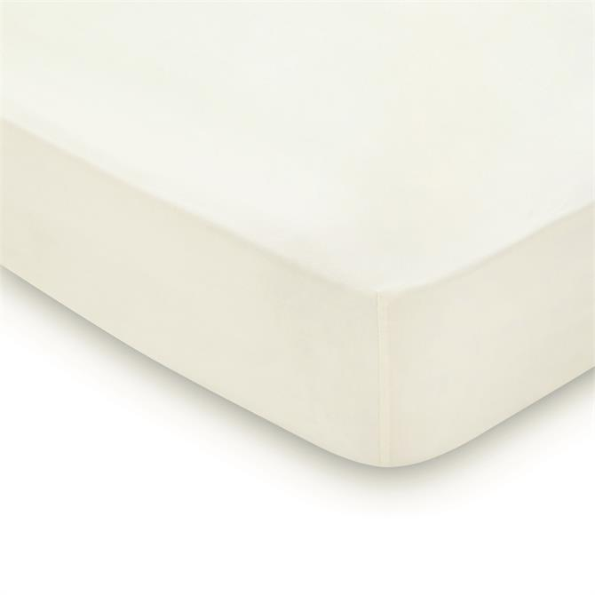 Peacock Blue Hotel 600TC Cotton Fitted Sheet