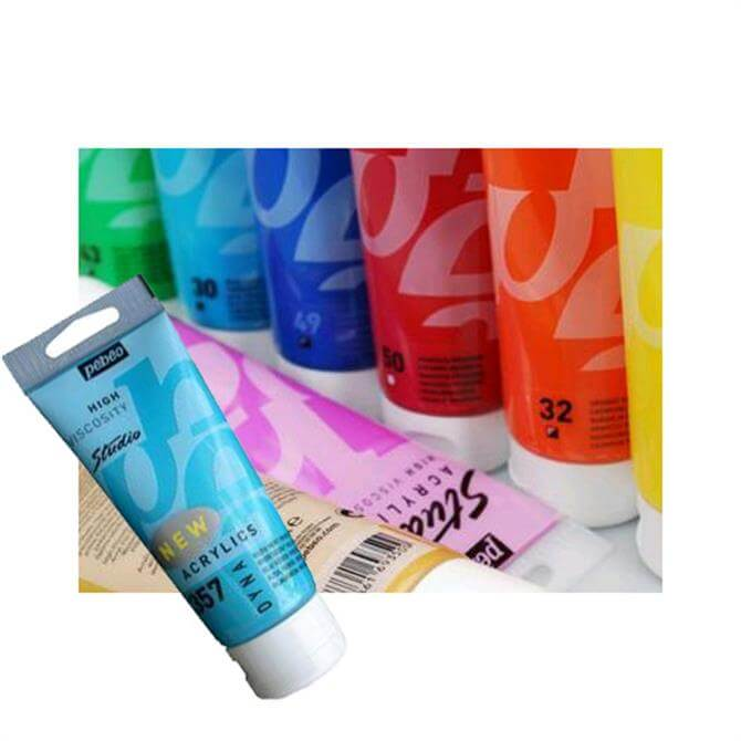 Pebeo Metallic Studio Acrylic Paint 100ml