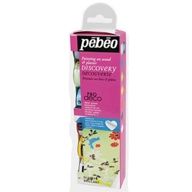 Pebeo Gloss Paint 6 Set