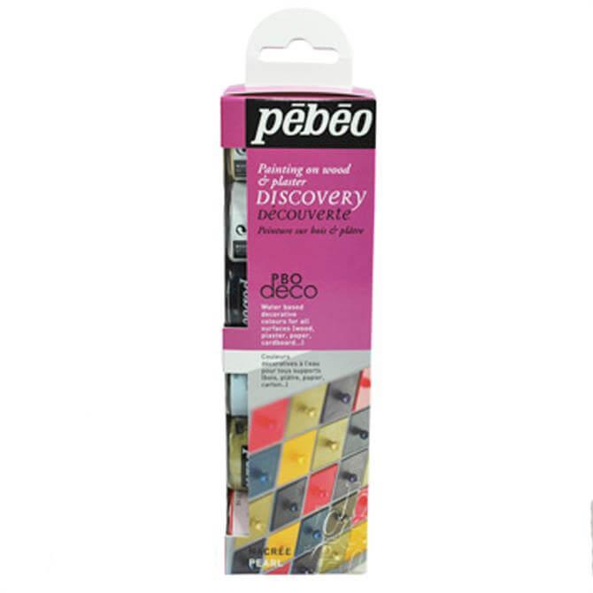 Pebeo Pearl Paint 6 Set
