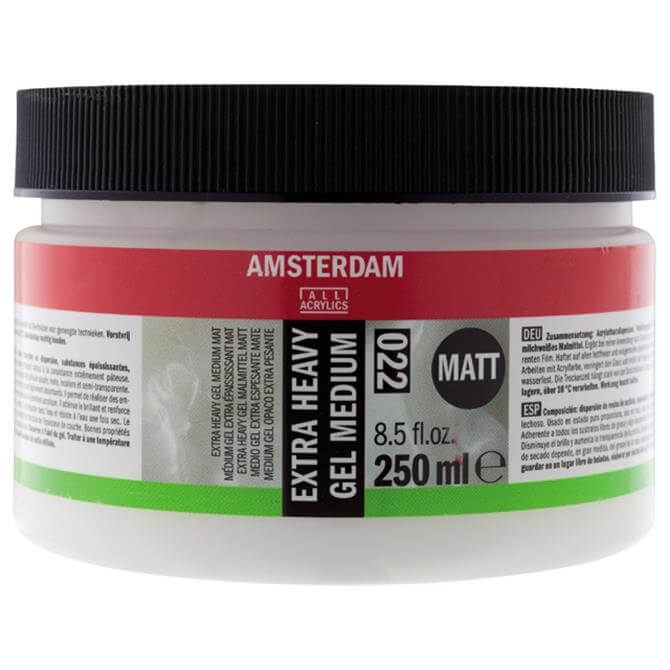 Amsterdam AAC Extra Heavy Gel Medium 250ml