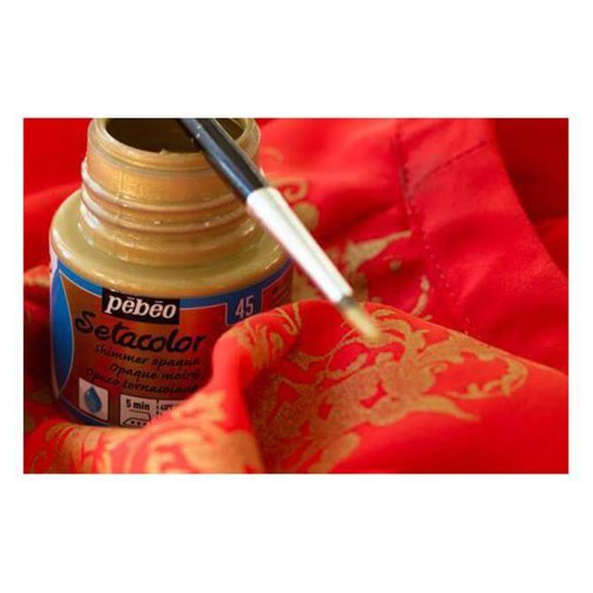 Pebeo Setacolour Shimmer Fabric Paint