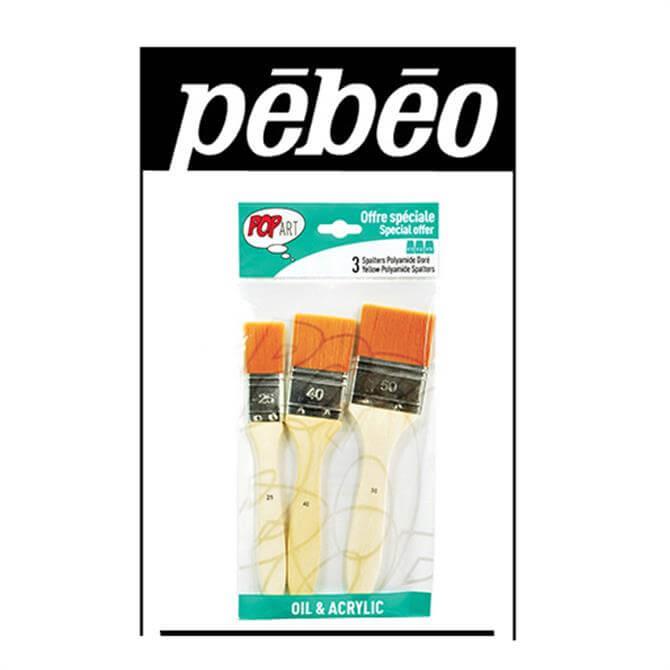 Pebeo Splatter Brush Pack