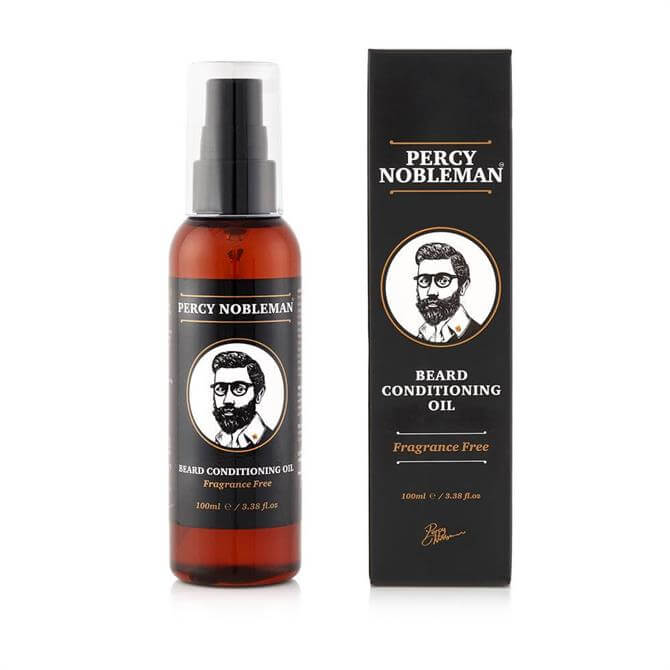 Percy Nobleman Beard Conditioning Oil Fragrance Free 100ml