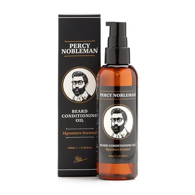 Percy Nobleman Signature Scented Conditioning Beard Oil 100ml