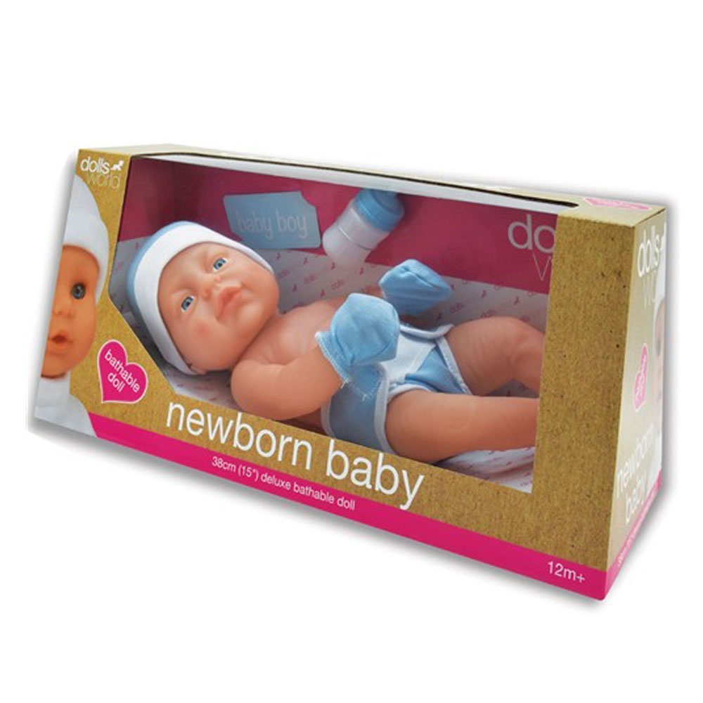 An image of Dollsworld Newborn Baby Boy