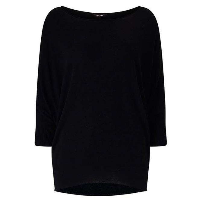 Phase Eight Becca Batwing Black Jumper