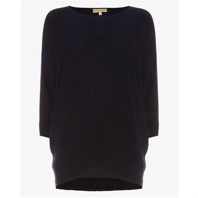 Phase Eight Becca Batwing Knit Navy