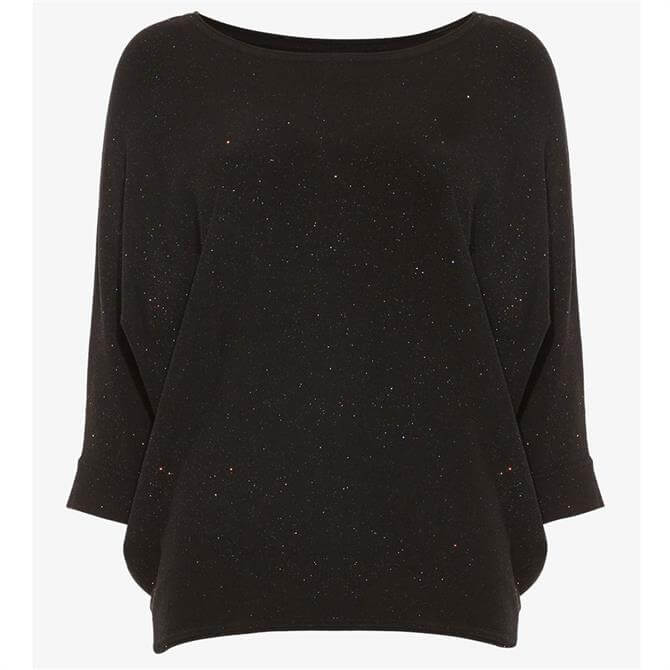 Phase Eight Becca Glitter Batwing Knitted Jumper