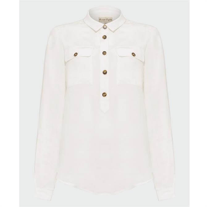Phase Eight Gwenda Shirt Ivory