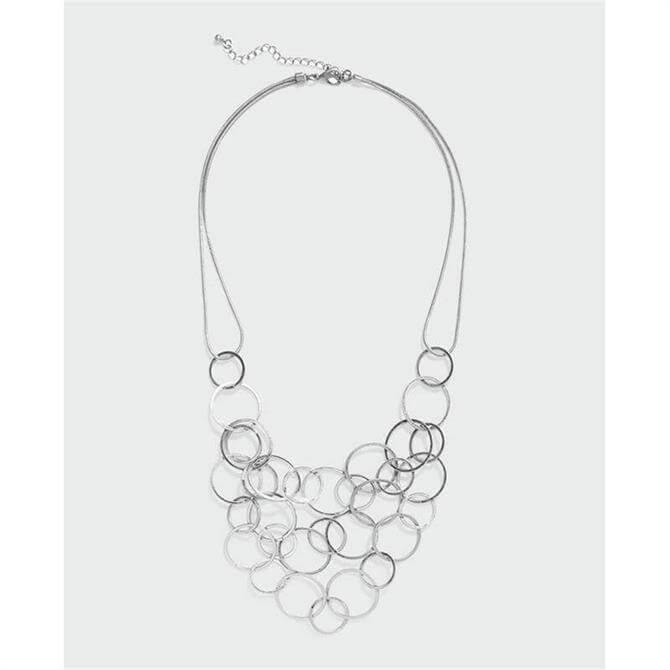 Phase Eight Melanie Necklace Silver