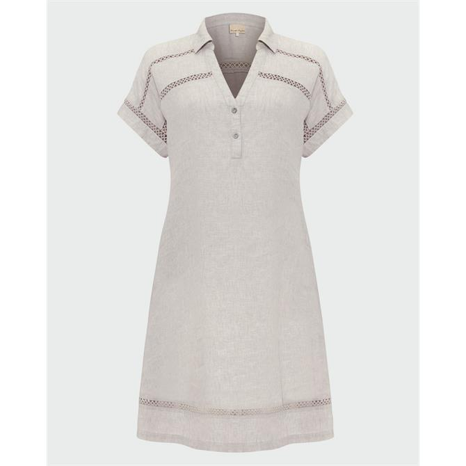 Phase Eight Arla Linen Swing Dress