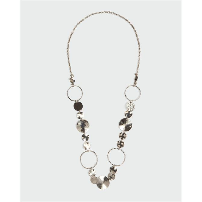 Phase Eight Kelly Ring Silver Necklace