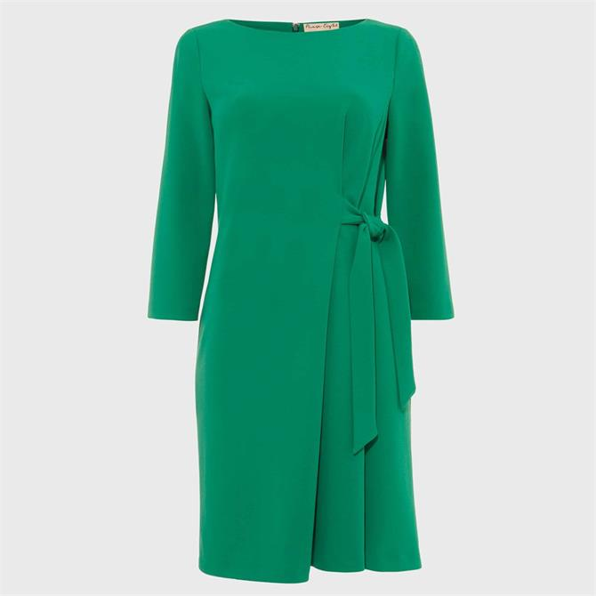 Phase Eight Thelma Jersey Dress Apple Green
