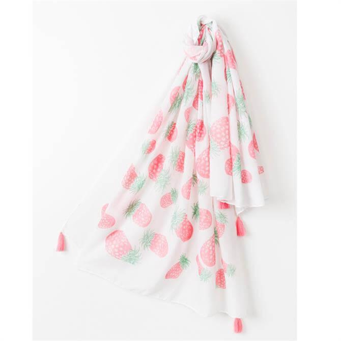 Pia Rossini Kingston Pink Scarf