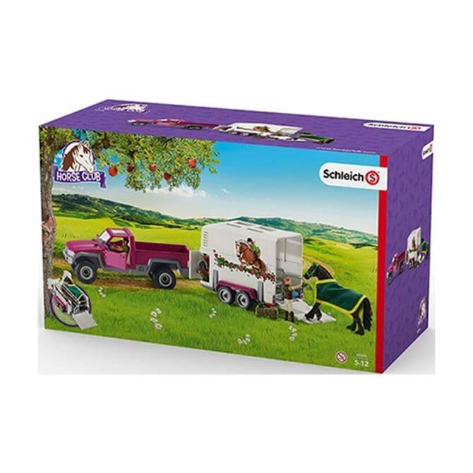 Schleich Pick Up Horse Box 42346