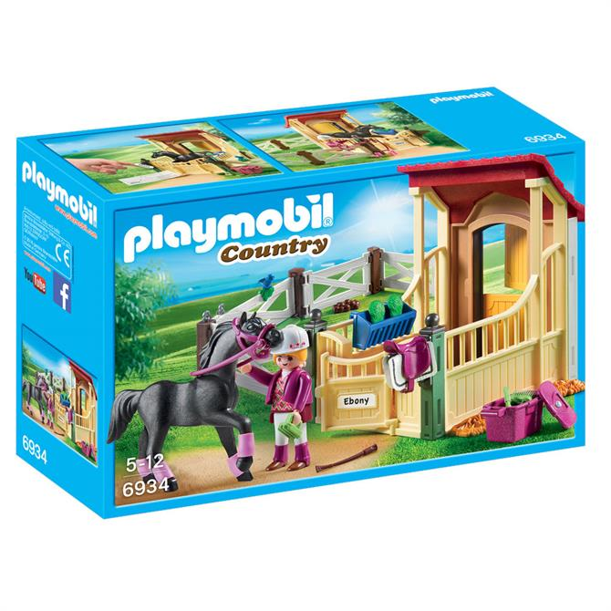 Playmobil Horse Stable With Araber 6934