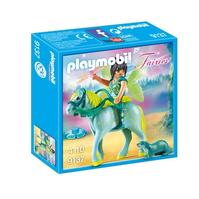 Playmobil Enchanted Fairy With Horse 9137