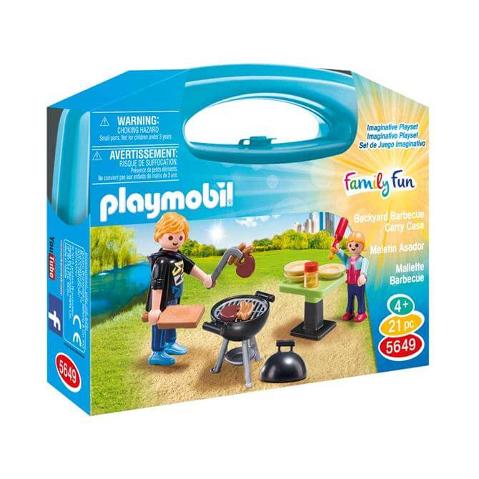 Playmobil Backyard BBQ Carry Case 5649
