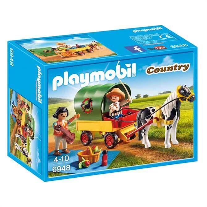 Playmobil Picnic Pony Wagon 6948