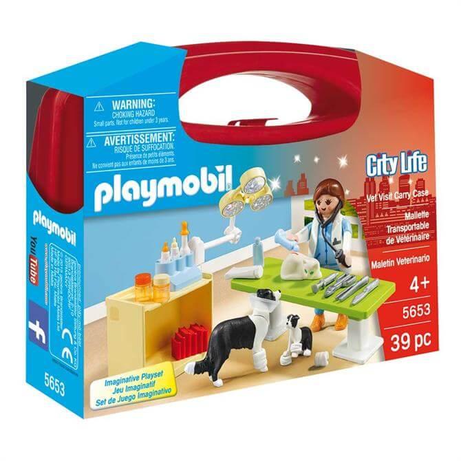Playmobil Vet Carry Case 5653