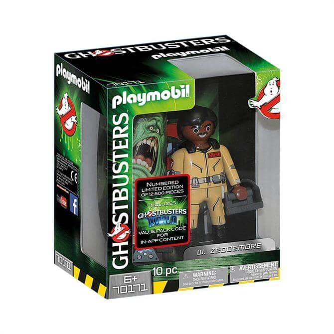 Playmobil Ghostbusters W. Zeddemore Figure