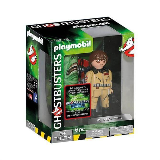 Playmobil Ghostbusters P. Venkman Figure 70172