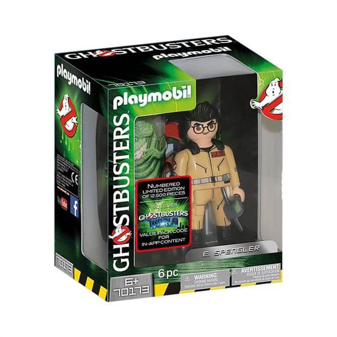 Playmobil Ghostbuster E. Spengler Figure 70173