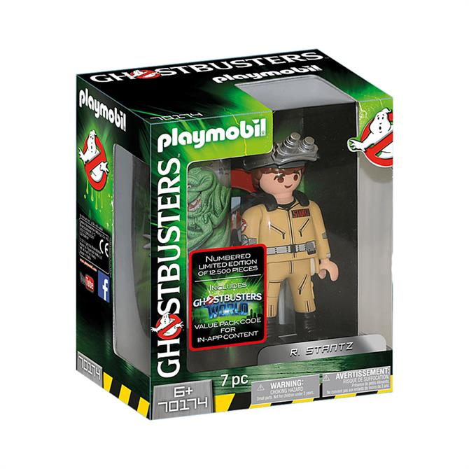 Playmobil Ghostbusters R. Stantz Figure 70174