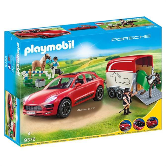Playmobil Porsche Macan GTS with Horse Trailer 9376