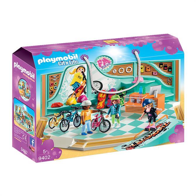 Playmobil Bike & Skate Shop 9402
