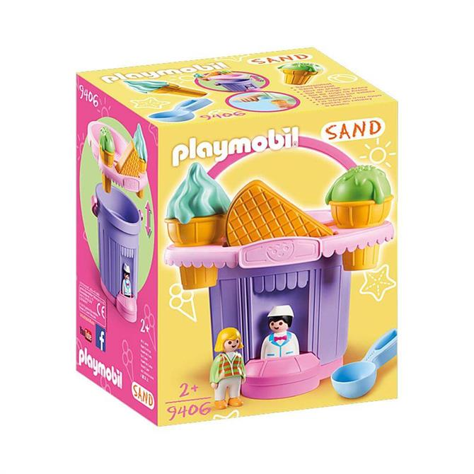 Playmobil 9406 Ice Cream Shop Sand Bucket