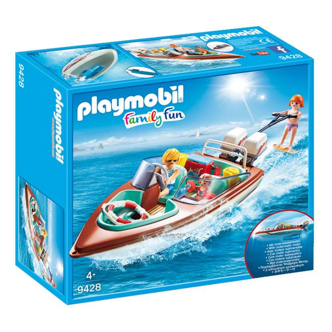 Playmobil Speedboat with Underwater Motor 9428