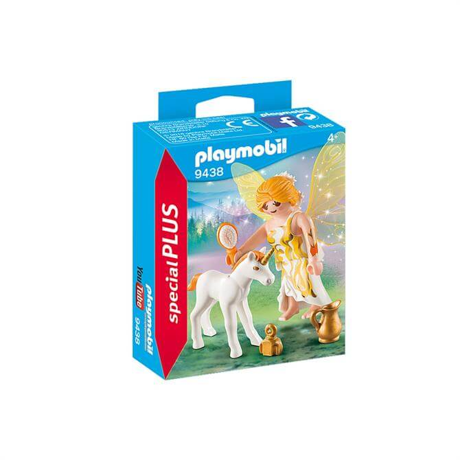 Playmobil Sun Fairy with Unicorn Foal 9438