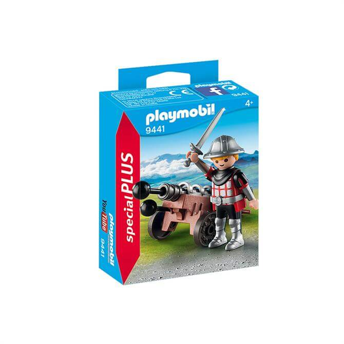 Playmobil Knight with Cannon 9441