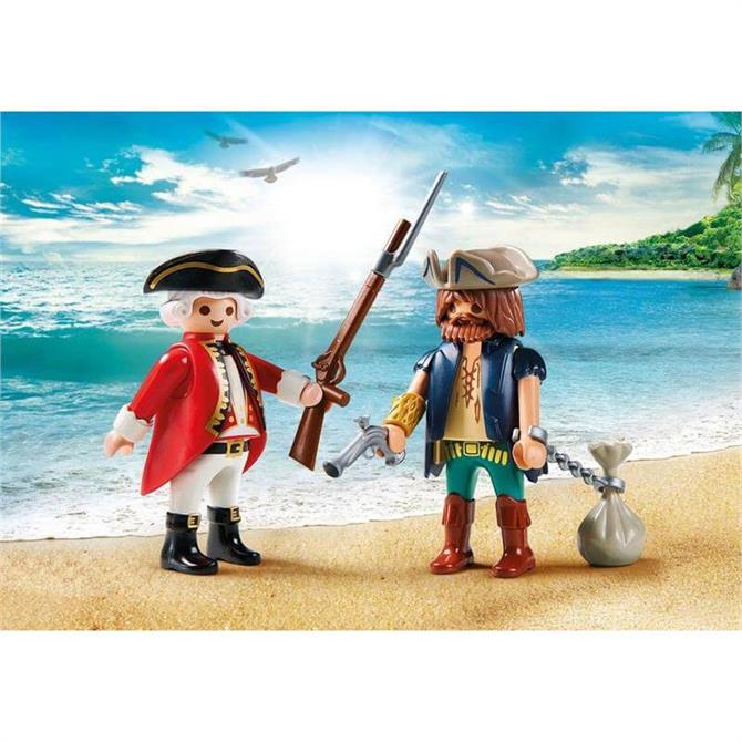 Playmobil Pirate and Soldier 9446