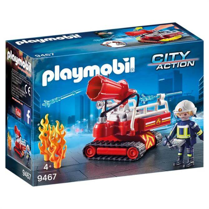 Playmobil Fire Water Cannon 9467