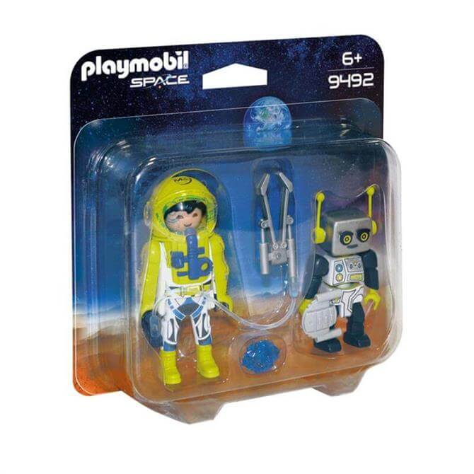 Playmobil Astronaut and Robot Duo Pack 9492