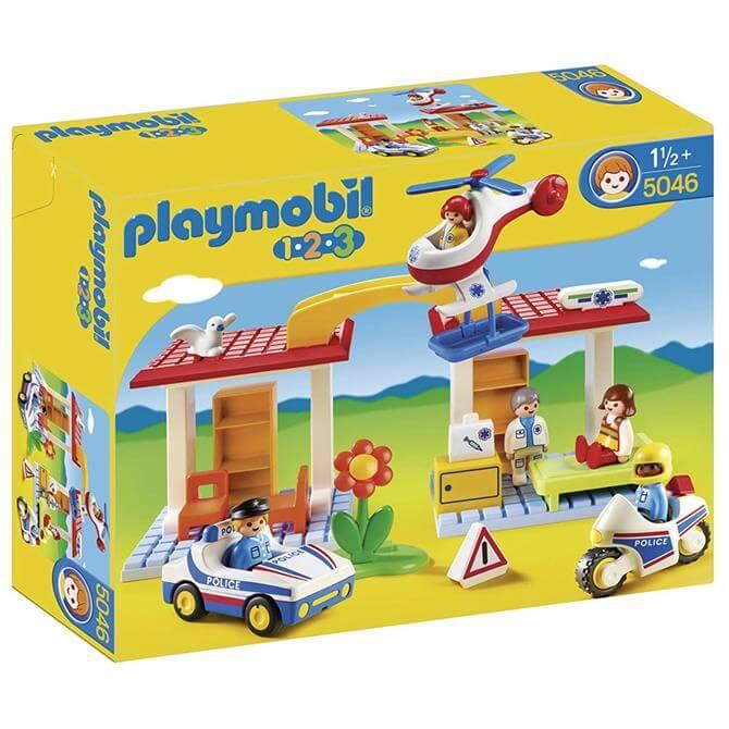 Playmobil 123 Police and Ambulance Playset 5046