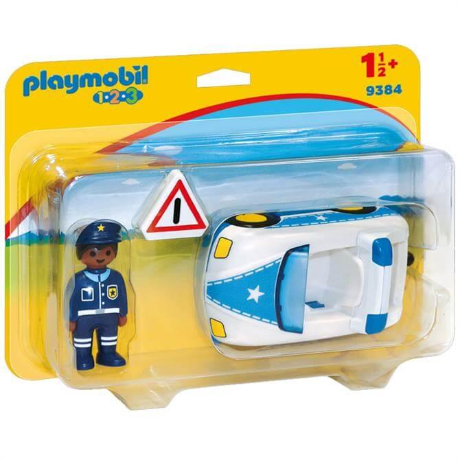 Playmobil 123 Police Car 9384