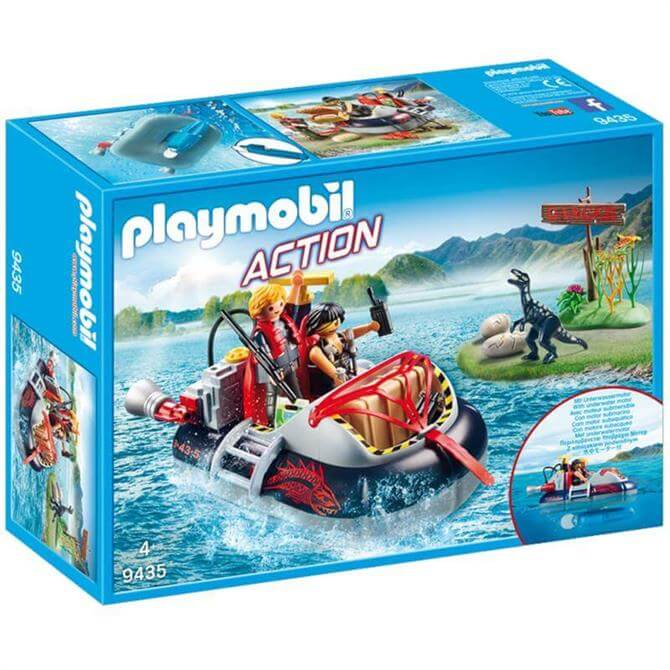 Playmobil Hovercraft With Underwater Motor 9435