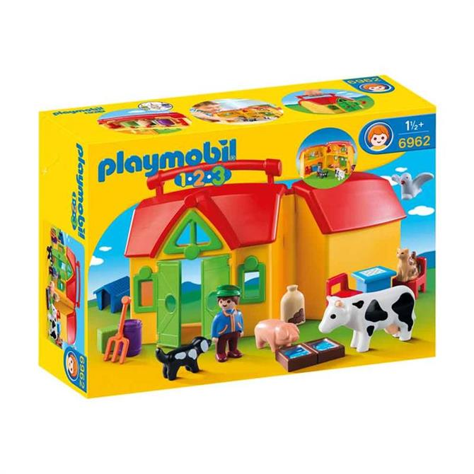 Playmobil 123 My Take Along Farm 6962