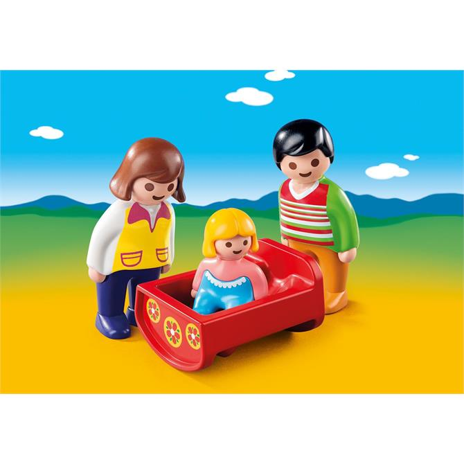 Playmobil 123 Parents with Cradle 6966