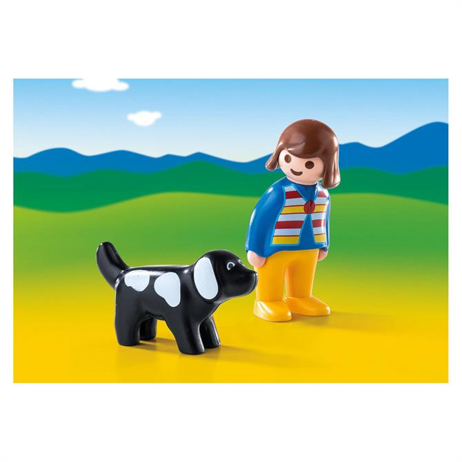 Playmobil 123 Woman with Dog 6977